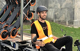 Circ bytter ut varebil med lastesykkel. Vil ha miljøvennlig innsamling av elsparkesykler