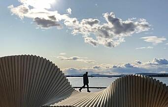 Ny park åpnet langs havnepromenaden mellom Vippetangen og Rådhuset