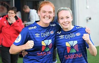 VIF-toppscorer Dowie tok farvel på hjemmebane med nok en scoring. Vålerenga-jentene tok sin fjerde strake seier