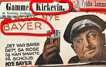 Annonser med høy alkoholprosent