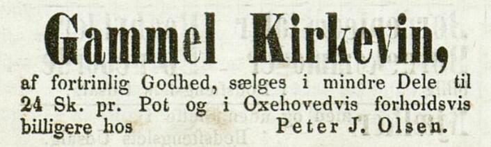 Christiania-Posten, 1860