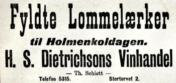 Aftenposten, 1908