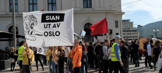 – Å hindre Sian å demonstrere på Tøyen Torg, handler ikke om ytringsfrihet, men om å stoppe hatefulle ytringer og åpen rasisme
