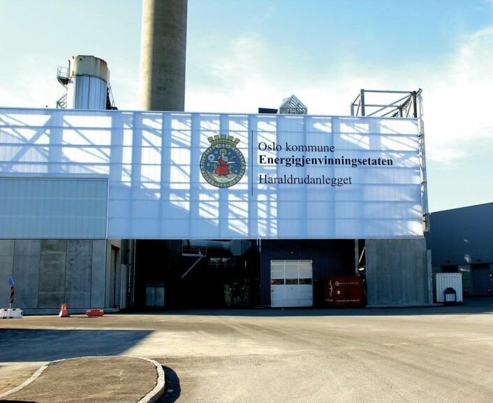 Over 820 brudd på arbeidsmiljølovens bestemmelser skal ifølge NRK være avdekket i energigjenvinningsetaten. Foto: Oslo kommune