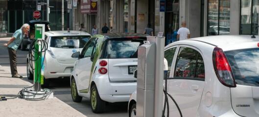 – Skal Oslo nå klimamålene, må alle biler være elbiler. Lan Marie Berg må gjøre langt mer enn bare å stole på Siv Jensen