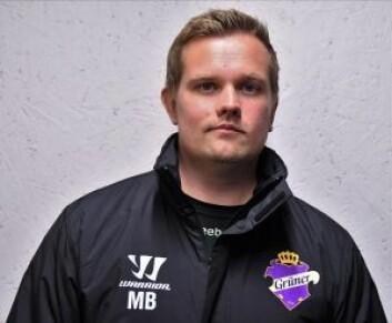 Grüner-trener Marius Bjerke mener laget hans ble hardt straffet for feil. Foto: Christian Boger