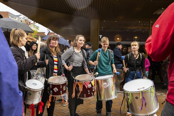 Overdøving med musikk. Foto: Morten Lauveng Jørgensen