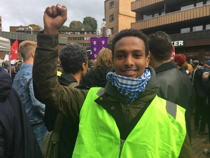 Abdinor Mohamed. Foto: Vegard Velle