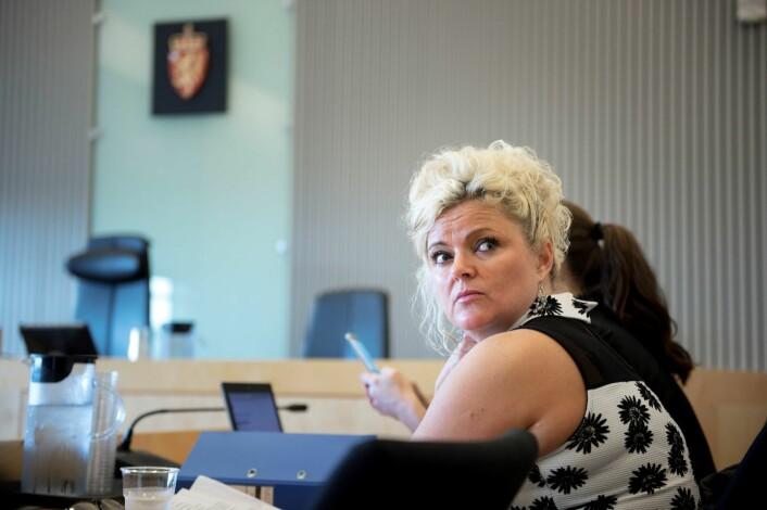 Merete Hodne er dømt for å nekte å klippe en kunde med hijab. Senere gikk hun til sak mot komiker Per Inge Torkelsen, som kalte henne nazifrisøren fra Bryne. Foto: Carina Johansen / NTB Scanpix
