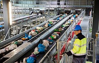 – Vi vil vise hvordan en storby går foran i kampen mot plastforsøpling, sa miljøbyråd Lan Marie Berg. Men setter ikke av et øre til gjenvinningsanlegg for plast