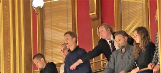 Extinction Rebellion-aktivister bøtelagt for demonstrasjon i Stortinget. Men frikjent for aksjon utenfor Norges Bank