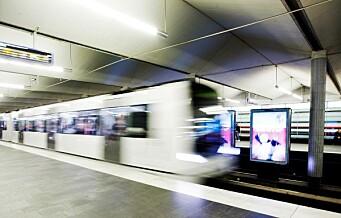 Person påkjørt av T-banen ved Jernbanetorget. Full stans på alle linjer mellom Grønland og Majorstua