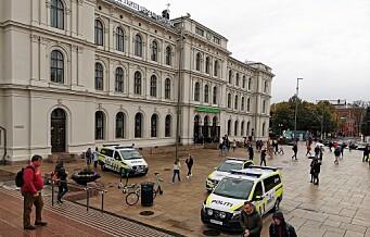 Ung mann alvorlig skadd i masseslagsmål på Oslo S