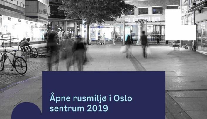 Uteseksjonen peker på politireformen som en årsak til den siste økningen av særlig i unge i det åpne rusmiljøet i Oslo. Skjermdump av Uteseksjonens rapport