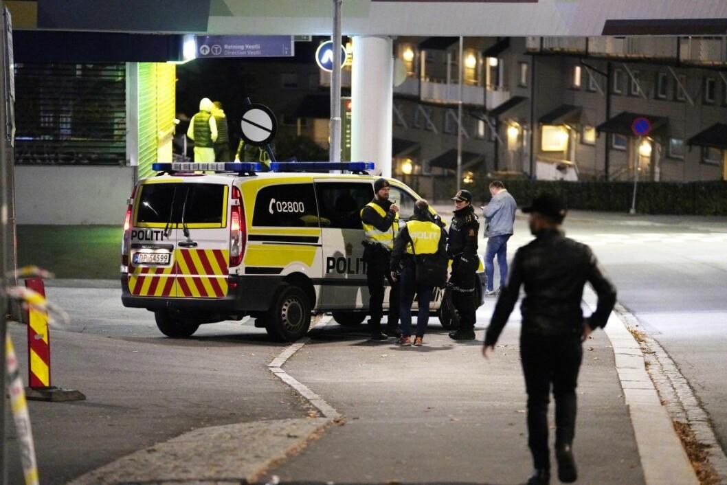 � Dette er en utfordrende jobb for politiet, fordi vi har svært begrenset informasjon, sier operasjonsleder Vidar Pedersen. Foto: Fredrik Hagen / NTB scanpix