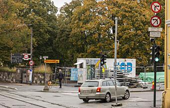 Bispegata i Gamlebyen er stengt for biltrafikk, men har blitt en lur snarvei. Sjansen for å bli stoppet av politiet er lik null