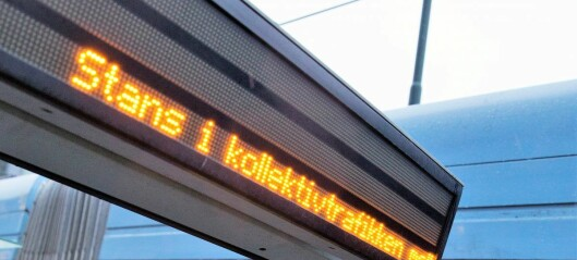 Streik stanser T-banen, trikker og busser i Oslo en halv time torsdag