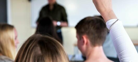 Kraftig vekst i fraværet i Oslo-skolene i høst