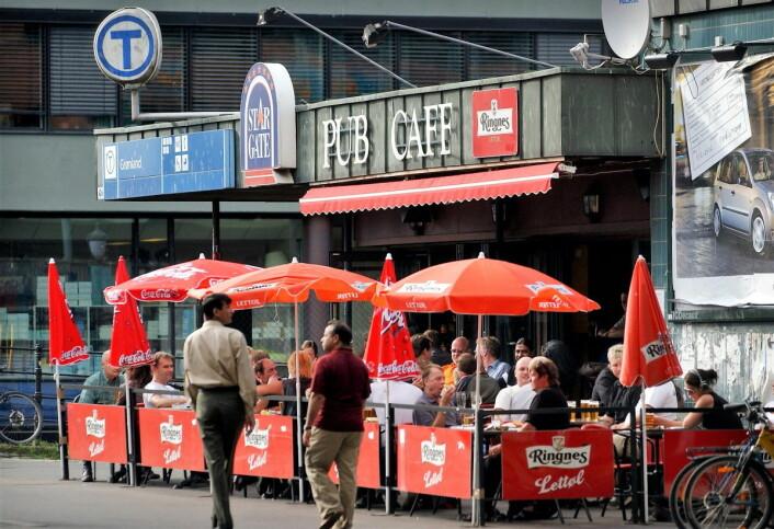 Det kan bli lenge til neste sommerpils på Star gate pub på Grønland. Næringsetaten avslo i juni stedets søknad om ny skjenkebevilling. Avslaget er nå anket. Foto: Heiko Junge / NTB scanpix
