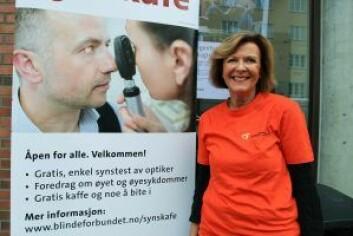 Daglig leder i Oslo Fylkeslag Ingrid Strøm-Olsen. Foto: Norges Blindeforbund