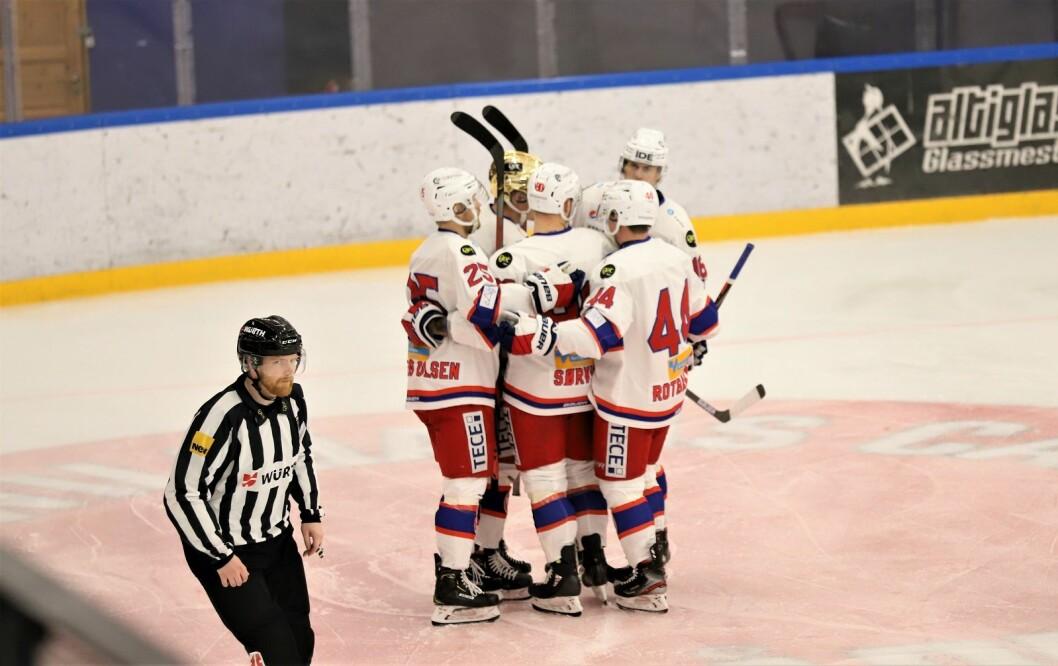 Det ble etterhvert en programmessig seier til VIF. Foto: André Kjernsli