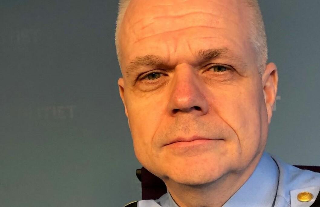 Ifølge operasjonsleder Tor Jøkling i Oslo politidistrikt, ble mannen beskrevet som fullstendig rabiat. Foto: Oslopolitiet