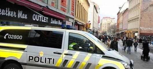 To menn pågrepet med pistol. Først i Bogstadveien og deretter i Brugata