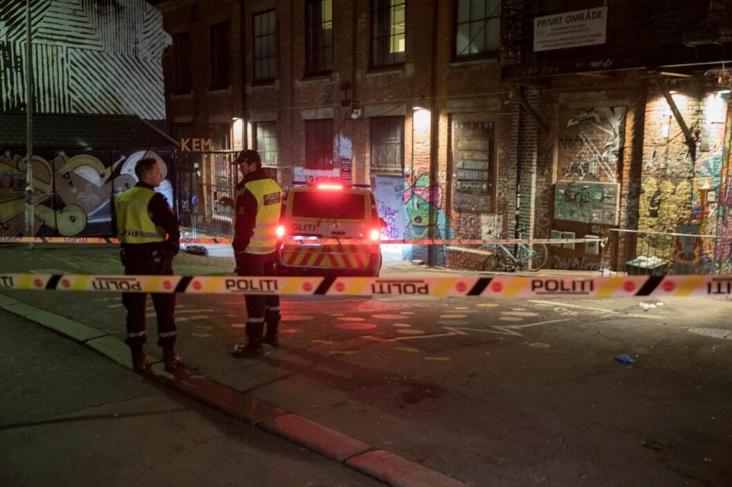 Rettssaken mot 18-åringen som er tiltalt for to drapsforsøk på utestedet Blå i Oslo, starter tirsdag. Foto: Vidar Ruud / NTB scanpix
