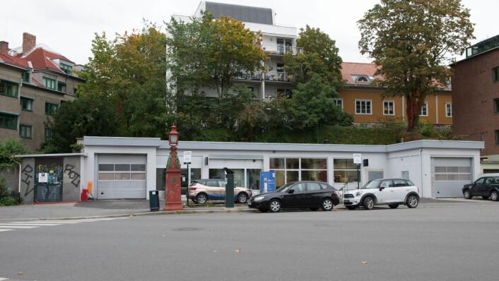 Shoot Gallery ble etablert i 2013 og var det første i Oslo som spesialiserte seg på fotografi. Siden i vår har galleriet holdt til i denne gamle bensinstasjonen på Frogner. Foto: Hilde Kari Nylund