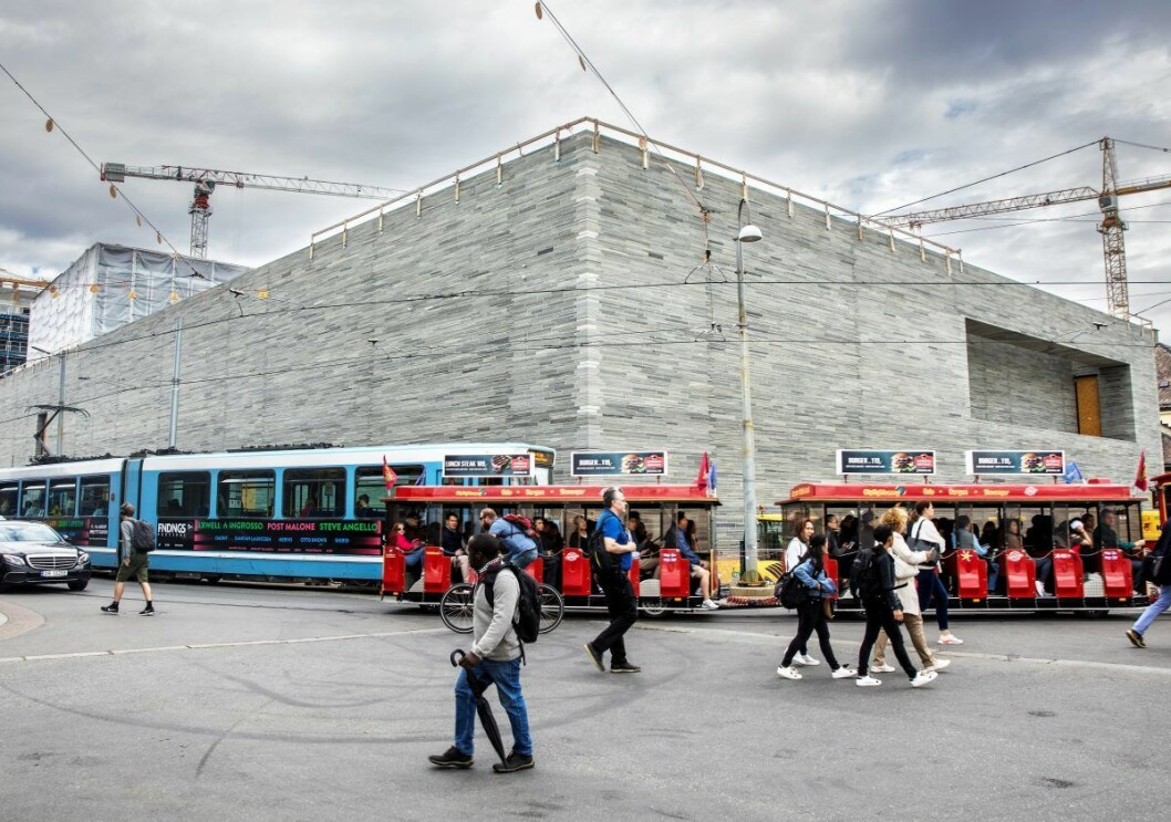 Ifølge KPMG-rapporten fikk de innleide litauerne en timelønn på 99 kroner, mens allmenngjort minstelønn for ufaglærte er 184,36 kroner i timen. Foto: Ole Berg-Rusten / NTB Scanpix