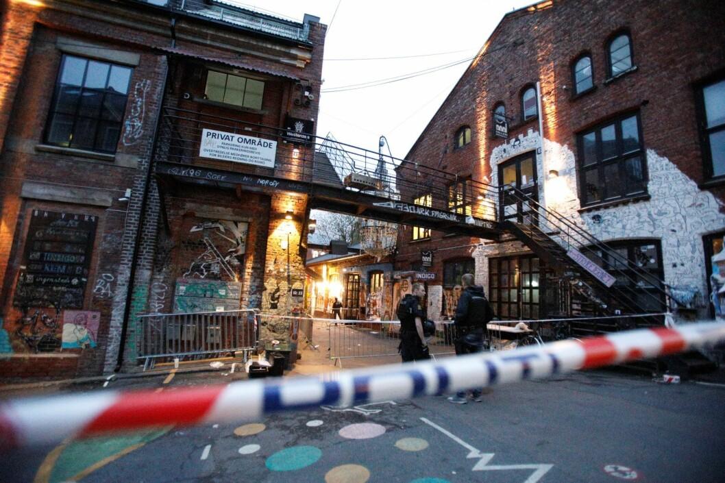 26-åringen er dømt for drapsforsøk på sju personer etter at han avfyrte skudd utenfor inngangspartiet til utestedet Blå på Grünerløkka i Oslo natt til 9. juli 2017. Foto: Audun Braastad / NTB scanpix