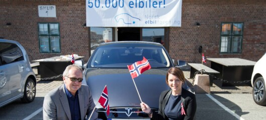 – Fremdeles er 84 prosent av bilene i Oslo bensin- eller dieselbiler. Det må fortsatt lønne seg å velge elbil