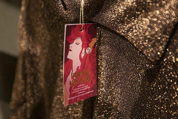 Dianas vintage heter merket til de to innehaverne av Frøken Dianas Salonger. Foto: Olav Helland