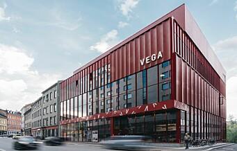 Vega scene i Hausmanns gate får Oslo bys arkitekturpris