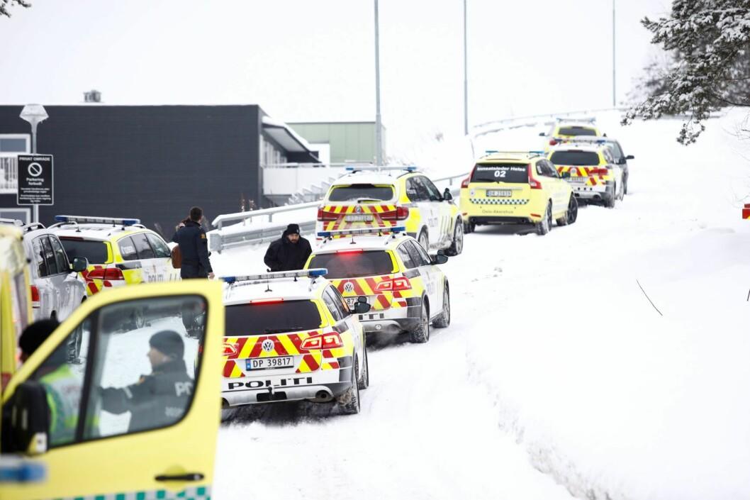 En 34 år gammel mann er dømt til 13 og et halvt års fengsel for å ha drept en polakk i et garasjeanlegg på Bjørndal i Oslo i mars i fjor. Foto: Audun Braastad / NTB scanpix