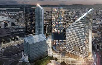 Eieren ønsker at nye Oslo Spektrum blir like høy som Oslo Plaza og Posthuset