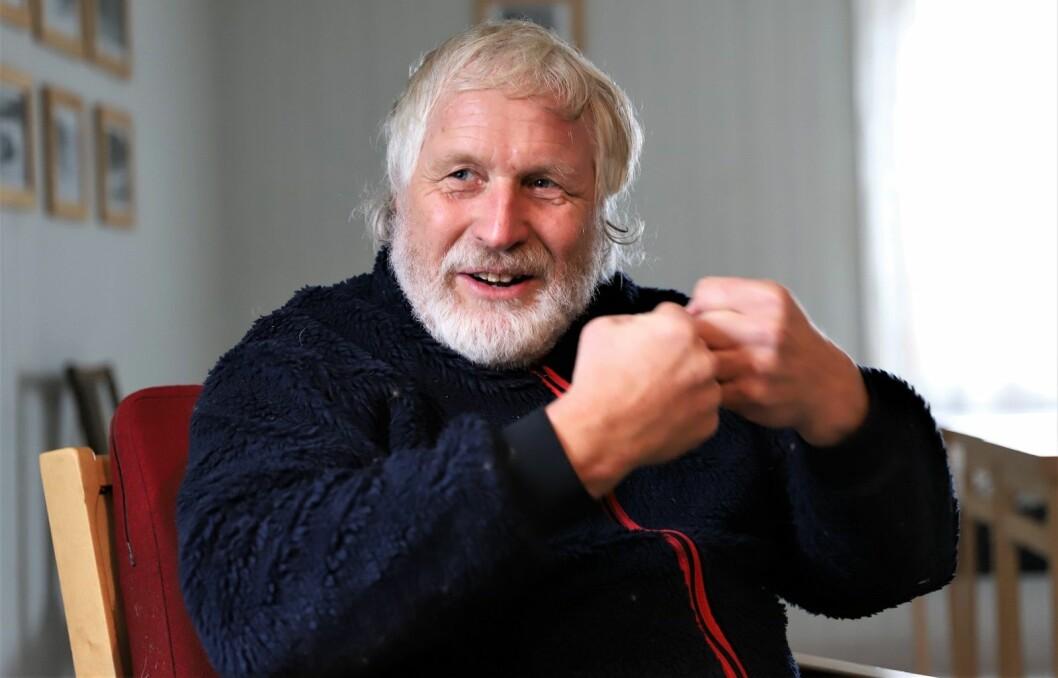 Håvard Pedersen blir engasjert når han snakker om skogens betydning for mennesker. Foto: André Kjernsli