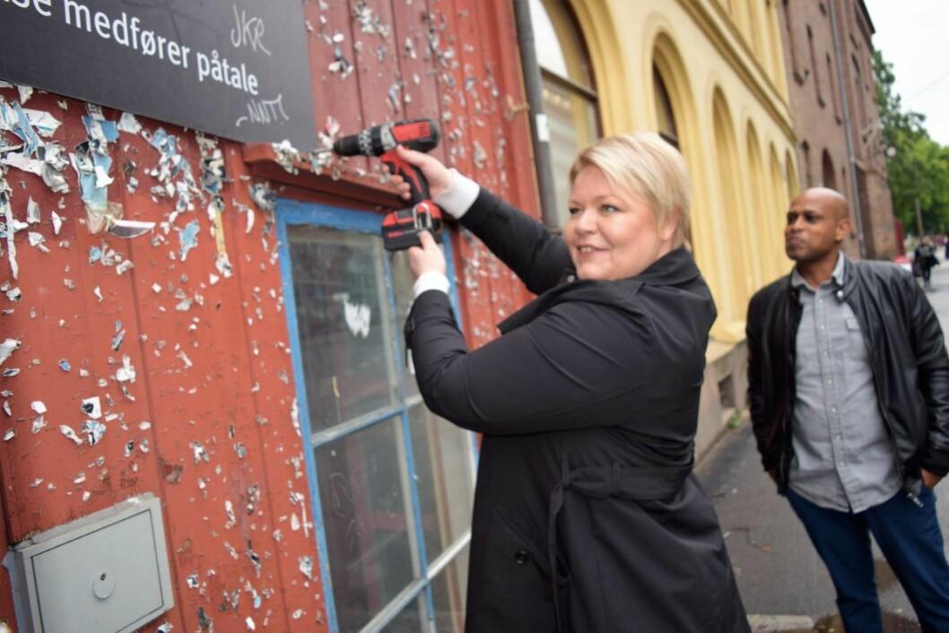 – For å sikre at vi har sterke fagmiljøer som kan forvalte og bygge fremtidens bygg, mener vi en sammenslåing er et riktig og nødvendig grep, sier Marthe Scharning Lund. Foto: Magnus Evenstuen