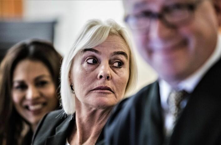 SIAN-nestleder Fanny Bråten sa i retten at hun ble med i SIAN fordi hun er spesielt opptatt av kvinners rettigheter. Foto: Ole Berg-Rusten / NTB scanpix