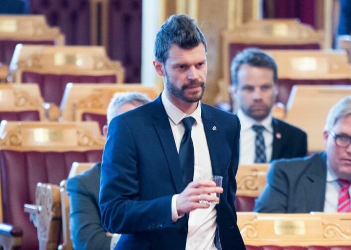 Rødt og Bjørnar Moxnes foreslår overfor de andre partiene på Stortinget at stillingen som sivilombudsmann utlyses på nytt. Foto: Terje Pedersen / NTB scanpix