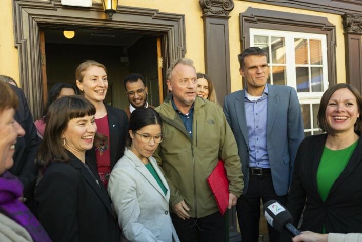 Byrådserklæringen inneholder over 300 grep som skal støtte opp under de nye Oslo-målene. Foto. Morten Lauveng Jørgensen