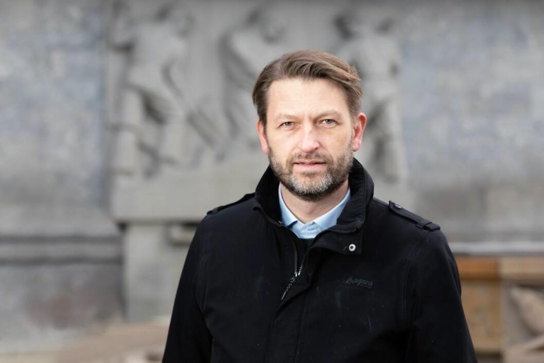 � Jeg skal fortsatt være et medlem av bystyret, delta i utformingen av Høyres politikk, sier Eirik Lae Solberg (H), som trekker seg fra vervet som gruppeleder. Foto: Hans Kristian Thorbjørnsen