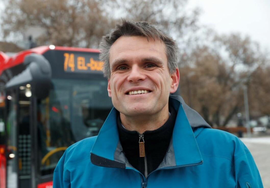 Einar Wilhelmsen er leder av Oslo MDG. Og er ifølge TV2 aktuell som MDGs tredje byråd i hovedstaden. Foto: Cornelius Poppe / NTB scanpix