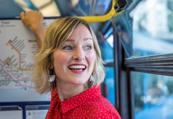Inga Marte Thorkildsen har vært SVs enslige svale i Oslos rødgrønne byråd. I dag kan hun få selskap av en partifelle når det nye rødgrønne byrådet presenteres. Foto: Berg-Rusten, Ole / NTB scanpix