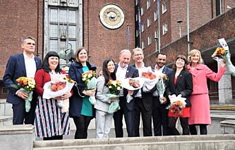 MDG og SV får hver sin nye byråd. Oslos høyeste politiske organ utvides