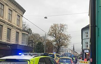 Flere skadd i trikkekollisjon på Olaf Ryes plass