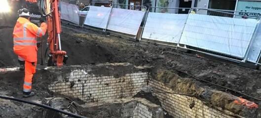 Da bymiljøetaten gravde opp Thorvald Meyers gate, dukket et underjordisk toalett opp