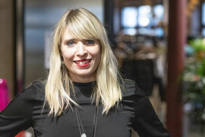 Alexandra Archetti Stølen har selv en norsk mor og en argentinsk far. Store deler av året er hun på reise for å bli kjent med artister over hele verden. Foto: Olav Helland