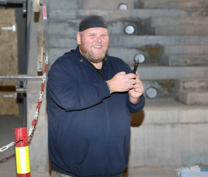 – Et fantastisk initiativ fra Kultur- og idrettsbygg overfor oss supportere, mener Dolph Fredrik Lillehagen Andersen. Foto: Atle Enersen