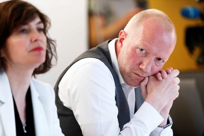 Norsk Redaktørforening og dets leder, Arne Jensen, mener det er svært uheldig om politiet skulle få gjennomslag for å bortvise folk som filmer på offentlig sted. Foto: Gorm Kallestad / NTB scanpix
